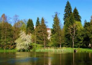 castel cu lac