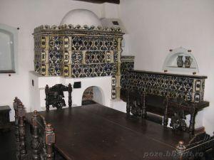 Castelul Bran - soba pictata